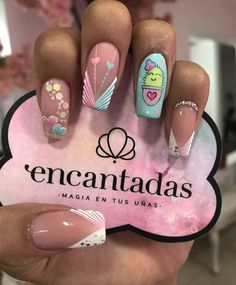 Nail Manicure, Diy Nails, Cute Nails, Pretty Nail Art, Beautiful Nail Art, Short Nails, Long Nails, Hello Nails, Nail Games