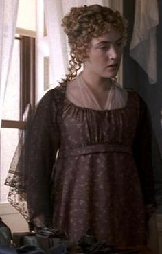 Kate Winslet, Marianne Dashwood - Sense and Sensibility (1995) #janeausten #anglee Costume Design by Jenny Beavan and John Bright