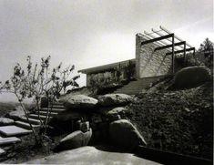 THE WESTSIDE - BEL-AIR:  Richard Neutra - Singleton Residence - Bel Air - 1960
