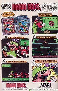 Mario Bros Atari 2600