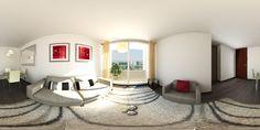 https://flic.kr/p/GeCjGu | Living render VR Panorama 360º | Panorama 360 Nueva menera de   visualización de proyectos. Cardboard de Google, valen la pena visualización de  render en 360º Experiméntalo!!.