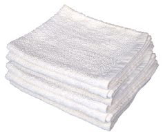 5b2c667c35 100% Cotton White Terry Bar Towels are used for all type of cleaning needs  for