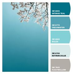 Spring Sky from Chip It! by Sherwin-Williams