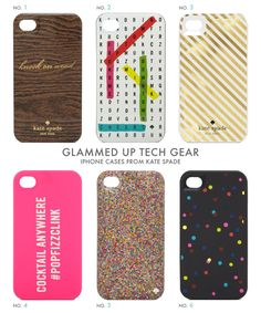 i love kate spade iphone cases / color me caitie