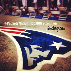 Are you one of the 100,000? If not, follow @patriots on Instagram now! http://instagram.com/p/PHjFMiv8Te/