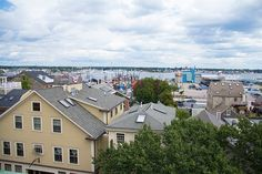 A stunning view of the New Bedford Harbor from the Harbor View Gallery