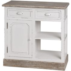 Country Style Kitchen Cabinet – Allissias Attic & Vintage French Style