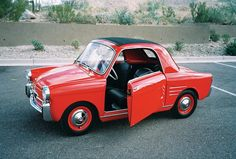 1959 Autobianchi Bianchina 500 Transformable. Sold at auction for $ 39,600 in 2010.
