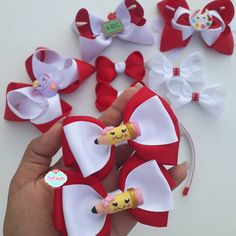 Cold Porcelain, Ribbon Bows, Beautiful Children, Hair Bows, Baby Shoes, Clay, Kids, Crafts, Instagram