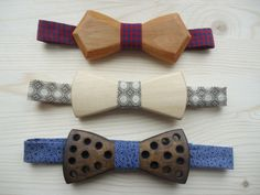 Wood Made Bow Tie