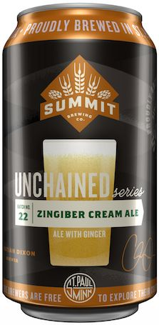 Summit announces their newest Unchained Series release: Zingiber Cream Ale. #Beer #CraftBeer #CreamAle #Ale | #BeverageDynamics Magazine
