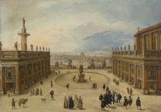 Louis de Caullery | Lot | Sotheby's PROPERTY OF A DESCENDANT OF ROBERT FINCK Louis de Caullery A VIEW OF THE CAMPIDOGLIO, ROME