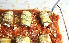 Eggplant Involtini With Cashew Ricotta