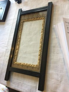 estate eboized eastlake picture frame #eastlake