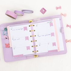 This week on my small Kikki.k in Lilac!