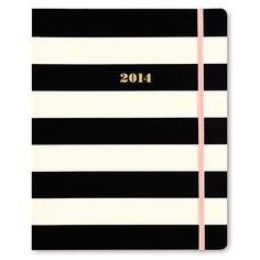 Check it out - the 2014 kate spade new york® 17-month agenda in black stripes is now available at www.lifeguardpress.com! $36