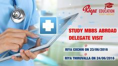 Delegate Visit at Riya Education Cochin and Thiruvalla. Come,meet the delegate & avail a chance to study MBBS abroad. Visit our site for details.