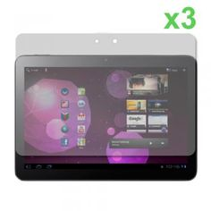 3x Clear Screen Protector Samsung Galaxy Tab 10.1 P7510
