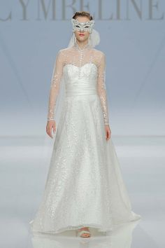 Cymbeline Kollektion 2017 BARCELONA BRIDAL FASHION WEEK http://www.hochzeitswahn.de/inspirationsideen/cristina-tamborero-kollektion-2017/ #bride #weddingdress #fashion