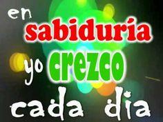 MUSICA CRISTIANA INFANTIL.CREZCO EN SABIDURIA. - YouTube