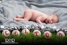 Baby Photography | Baseball Theme Photography | Baby Boy Photography Ideas |