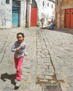 #TunisiaChallenge in #Bizerte  The joys of playing in the street.  #DiscoverTunisia