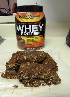 Protein bars. I like that they are no bake-  Humm perfect for some of my favorite athletes living in dorms! -KH  @fitLIFE_Chicago
