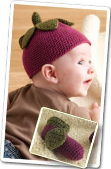 I made two of these hats and they are adorable!  Free Baby Crochet Patterns from Crochet Me: 7 Free Crochet Patterns for Babies