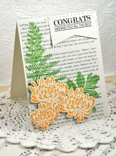 All The Best Card by Dawn McVey for Papertrey Ink (August 2013)