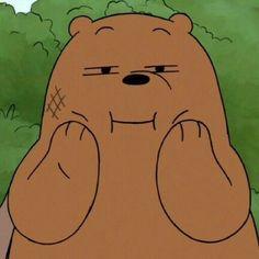 Ursos Sem Curso We Bare Bears Wallpapers, Cute Wallpapers, Bear Meme, Cartoon Pics, Cute Cartoon, Anime Muslim, We Bear, Bear Wallpaper, Evil Disney