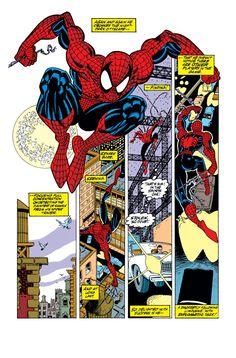 An excellent page from The Amazing Spider-man #349 Erik Larsen & Randy Emberlin