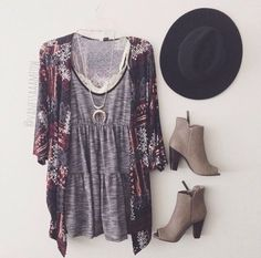 In love with the dress and kimono