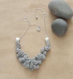 Textile Necklace www.etsy.com/shop/JulieCTextiles/