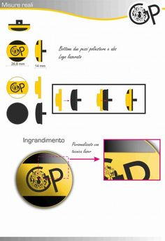 Grafica pubblcitaria_bottone abbigliamento due pezzi_poliestere e amb_logo laserato
