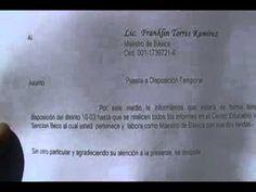 PROFESOR FRANKLIN TORRES RAMIREZ HABLA SOBRE PROBLEMÁTICA ESCUELA VICTOR...