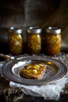 Adventures in Cooking: Peach & Pear Preserves with Rum & Cinnamon