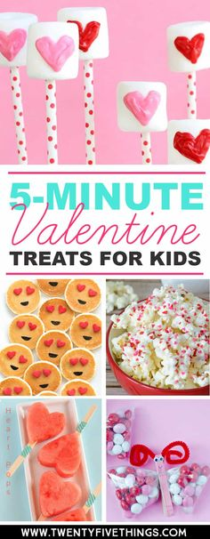 These easy Valentine's Day treats for kids are just right when you're out of time. Make these for classroom Valentine's Day parties or just a special surprise for the kids. day decor school Easy Valentine's Day Treats for Kids - Fun Loving Families Valentines Day Food, Valentines Treats Easy, Valentines Surprise, Kinder Valentines, Valentine Gifts For Kids, Valentine Day Crafts, Valentines Day Decor Classroom, Valentine Deserts, Valentine Party