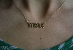 2 Custom Letters & Heart in Sterling Silver by ATELIERGabyMarcos, $69.00