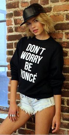 Stylestalker Don't Worry Sweatshirt - Nasty Gal