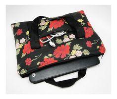 Bolsa porta netbook ou tablet - FashionArts - Artesanatos da Moda