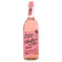 Belvoir Elderflower : the most beautiful drink ever made.