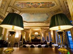 With floodlit views of the Opera House, this superbly renovated luxury hotel is at the heart of Parisian society. Opened in 1862, it defines historical grandeur, from Café de la Paix to La Verriere Restaurant, set in an 800 square metre winter garden. Elegantly appointed, the hotel's boutique-style suites overlook stunning landmarks. Located in the 9th arrondissement, close to the Louvre Museum, shopping, theatre and banking districts, this luxury Paris hotel is an icon in the City of Light…