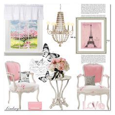 """""""Pink Louis XV"""" by lindsayd78 ❤ liked on Polyvore featuring interior, interiors, interior design, home, home decor, interior decorating, Haze, Antique, Vintage Print Gallery and Diane James"""