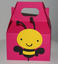 Bumblebee Favor Box On Etsy
