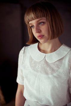 peter pan collar #wardrobearchitect