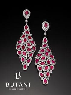Brinco de diamante da marca Butani