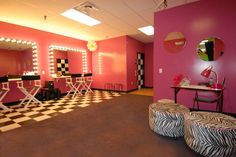 Glamour Room and Tween Lounge in Chino Hills, CA