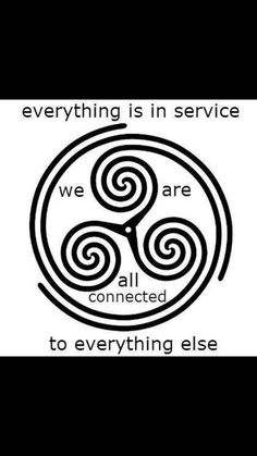 we are all connected .symbol is triskele Everything Is Connected, We Are All Connected, Celtic Symbols, Ancient Symbols, Celtic Knots, Egyptian Symbols, Celtic Art, Tattoo Ideas, Spirituality