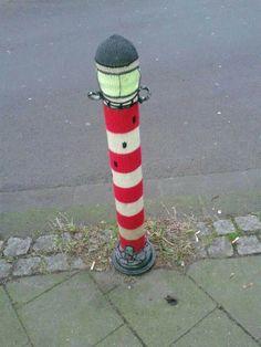 #street art #yarn bombing
