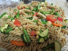 Vegan Fire & Spice penne primavera salad - Vegansprout reviews